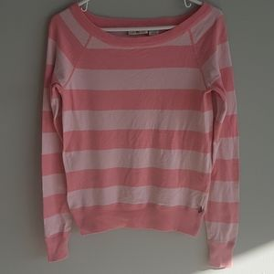 Polo by Ralph Lauren Pink Striped Sweater
